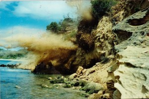 Cliff Face  Blasting Mornington Peninsula Victoria