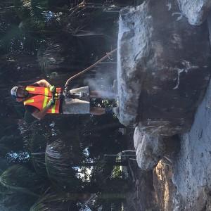 Concrete Block Drilling & Blasting