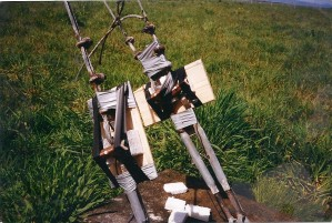 Esso Radio Mast Explosives Cutting Charges Orbost Vic
