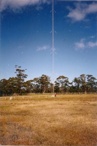 Esso Radio Mast Tower demolition Orbost Vic