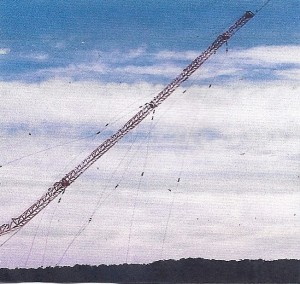 Transmission Tower Demolition using cutting explosives